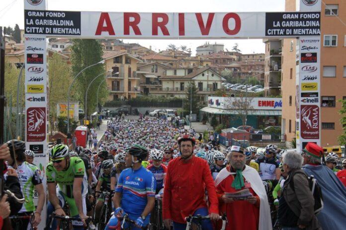 La partenza della GF La Garibaldina che fa parte del circuito Fantabici